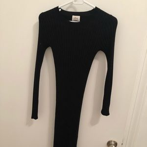 Wilfred midi sweater dress - stretchy
